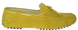 CALYPSO YELLOW SUEDE LEATHER