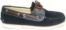 CRUISER NAVY SUEDE & PULL UP LEATHER