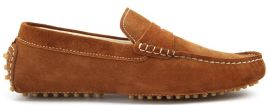 LAKE II TOBACCO SUEDE LEATHER