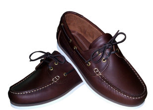 SKIPPER BROWN PULL UP LEATHER