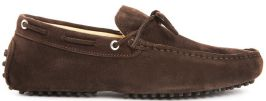 CALYPSO II DARK BROWN SUEDE LEATHER